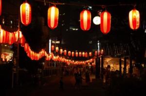 町内の祭り